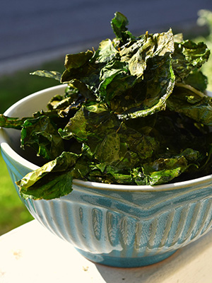 Kale Chips | Woodcutter's Plate