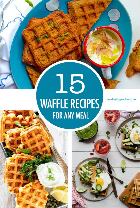 15 Waffle Recipes For Any Meal | Food Bloggers of Canada