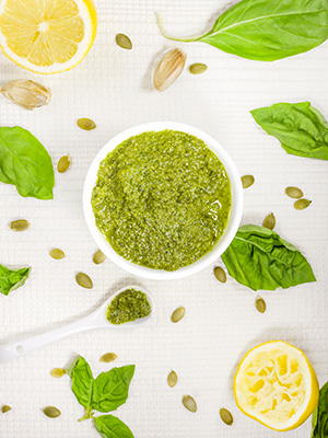 Pumpkin Seed Pesto | What She Ate