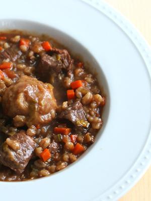 Lamb Barley Stew | Un Assagio
