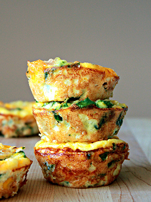 Mini Frittatas | Oh Sweet Day