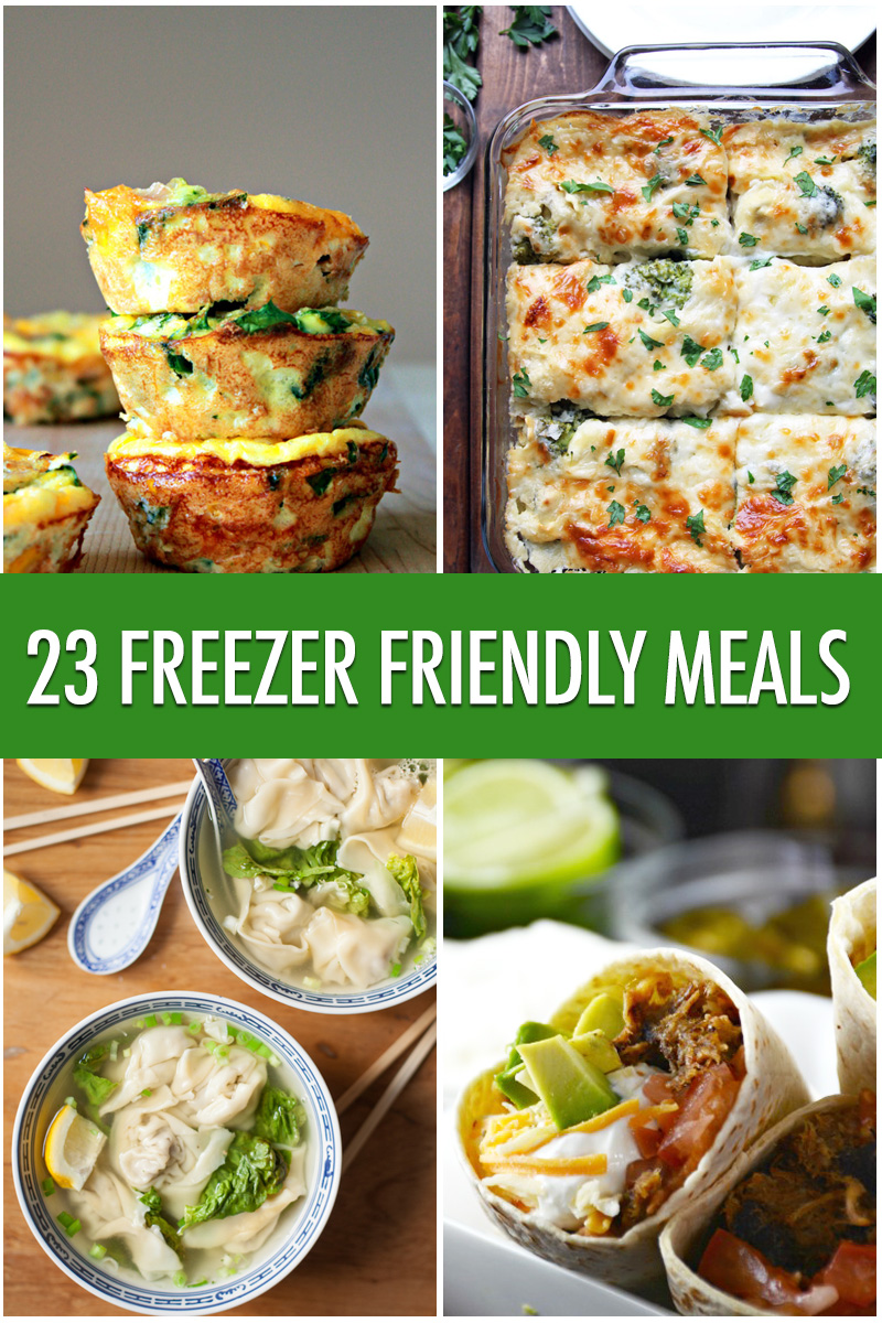 23 Freezer Friendly Meal Ideas | Food Bloggers of Canada