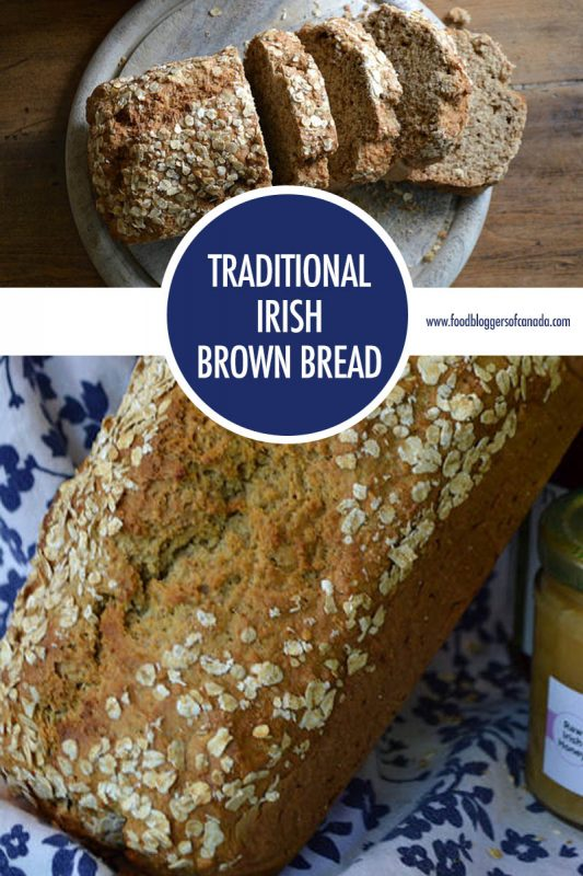 Traditional Irish Brown Bread | Food Bloggers of Canada