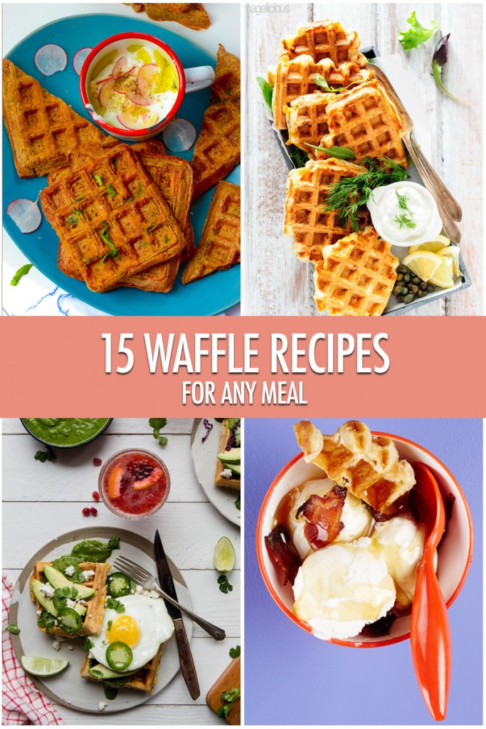 15 Waffle Recipes For Any Time of Day | Food Bloggers of Canada