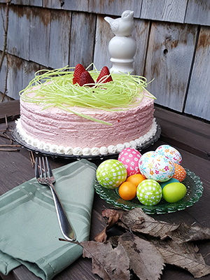 Spring Strawberry Cake | MDVIADOMESTICA