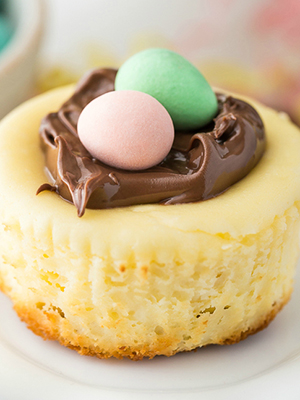 Mini Easter Cheesecakes | Simply Stacie