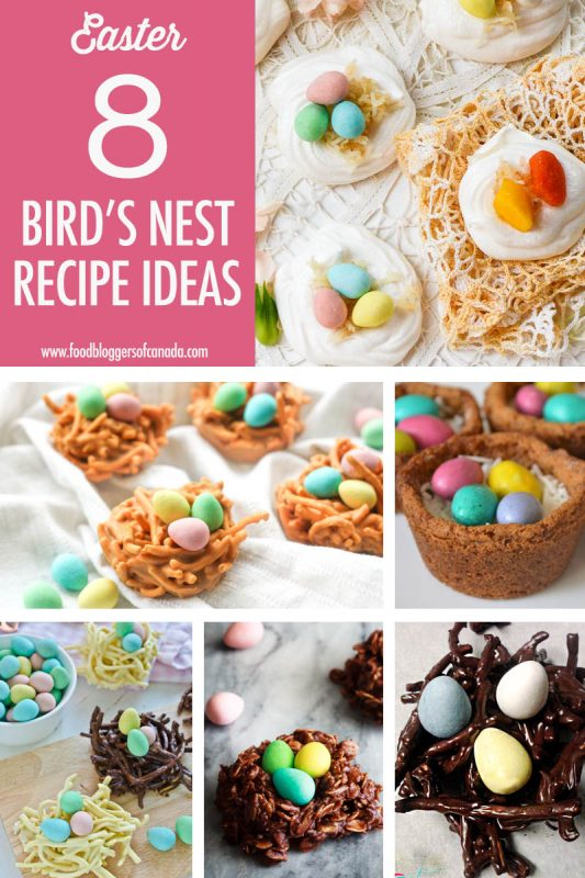 Bird's Nest Cookie Recipe Ideas | Food Bloggers of Canada