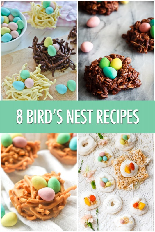 8 Fun Bird's Nest Recipes For Easter | Food Bloggers of Canada