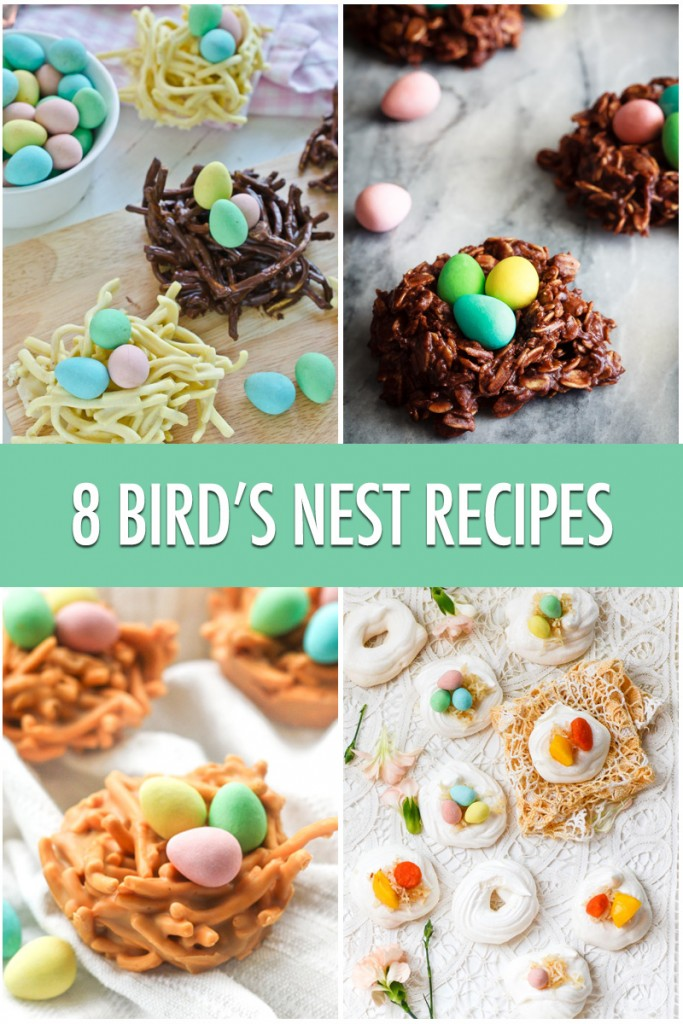 how to make birds nest food