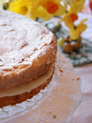 Lemon Feather Cake (GF) | Chef Heidi Fink