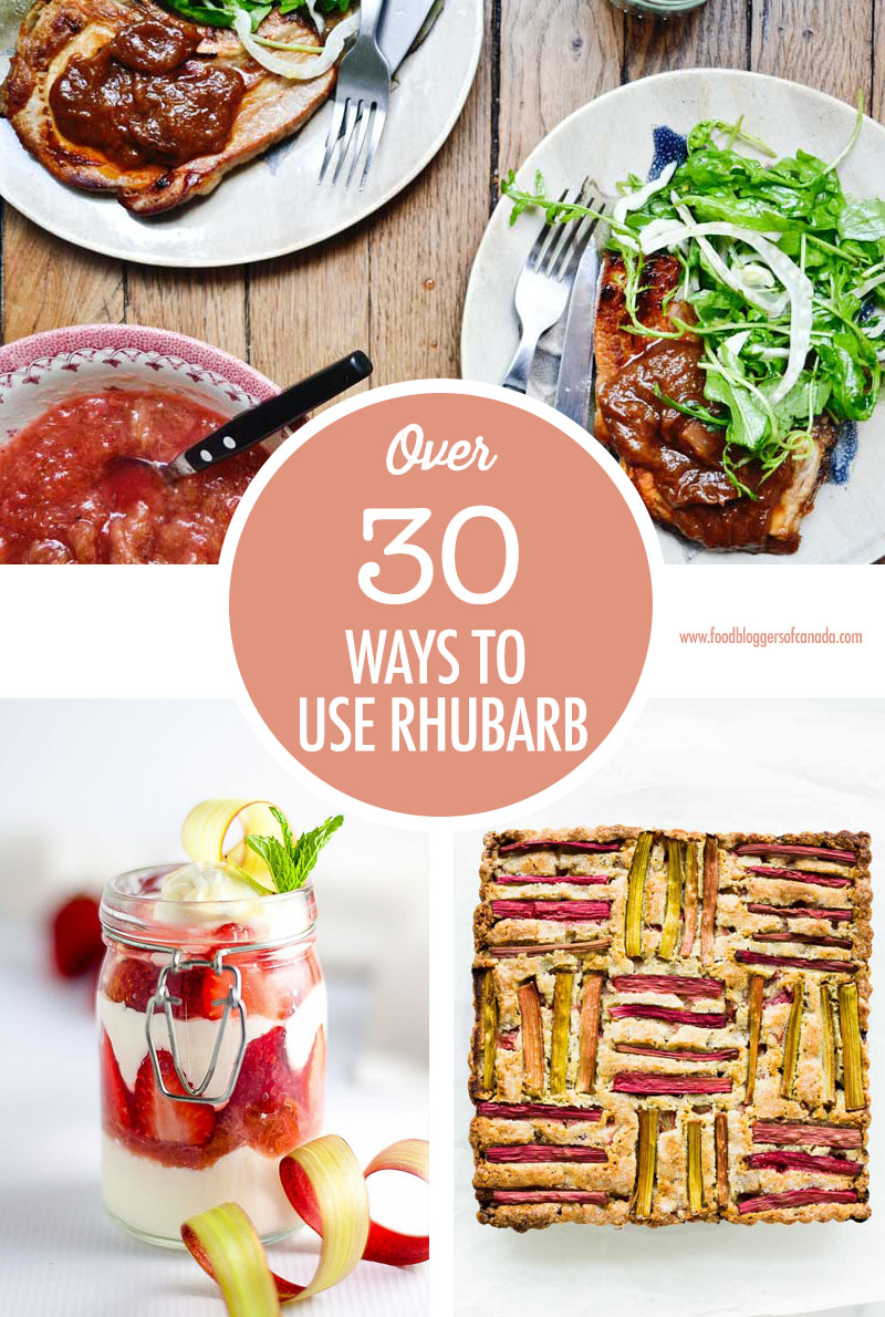 Over 30 Rhubarb Recipes (that aren't crumbles or crisps) | Food Bloggers of Canada