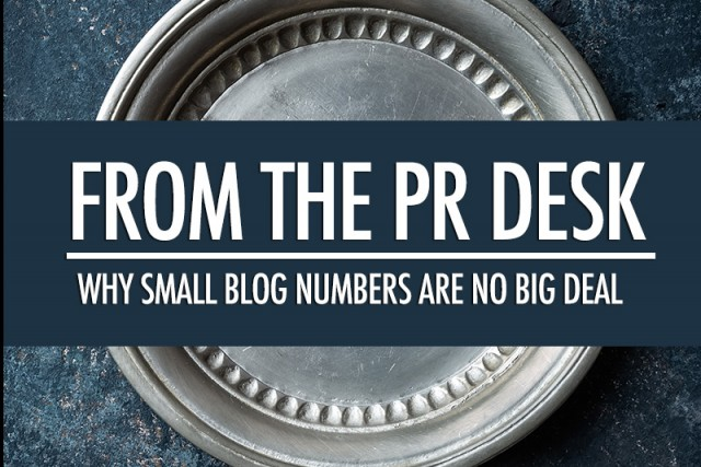 Small Blog Numbers are No Big Deal | Food Bloggers of Canada