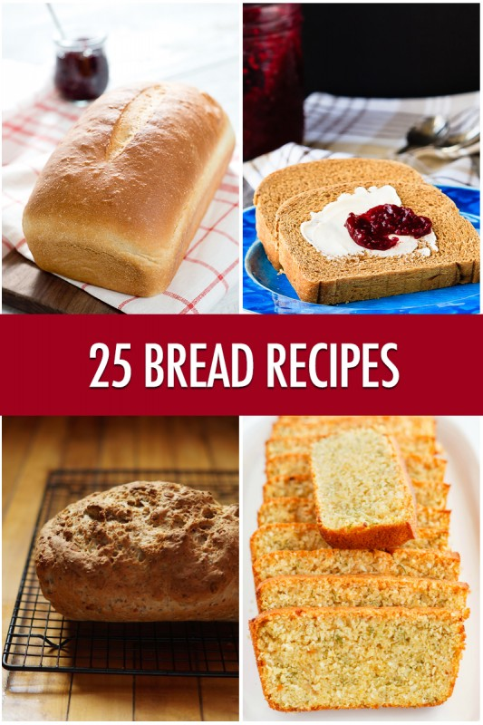 25 Bread Recipes | Food Bloggers of Canada