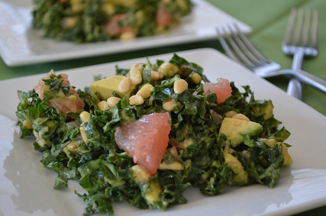 Greens and Grapefruit Salad