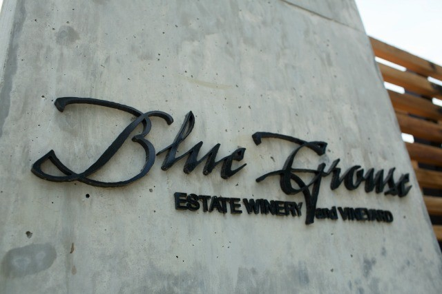 Blue Grouse Estate Winery | Food Bloggers of Canada