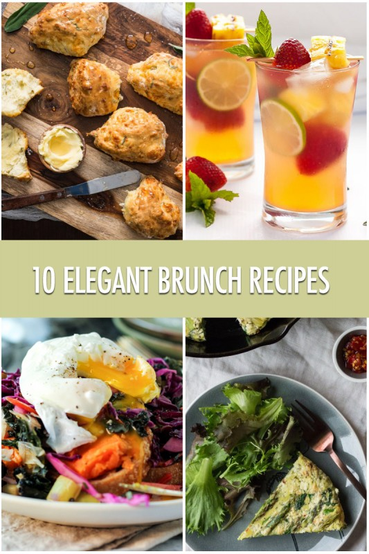 10 Elegant Brunch Recipe Ideas | Food Bloggers of Canada