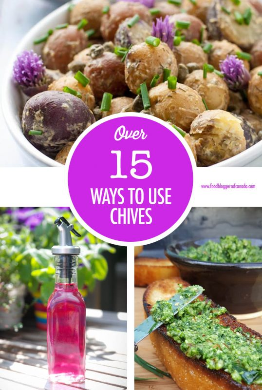 Over 15 Ways to Use Chives   Food Bloggers of Canada