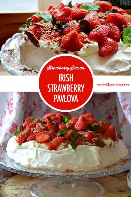 Strawberry Pavlova | Food Bloggers of Canada