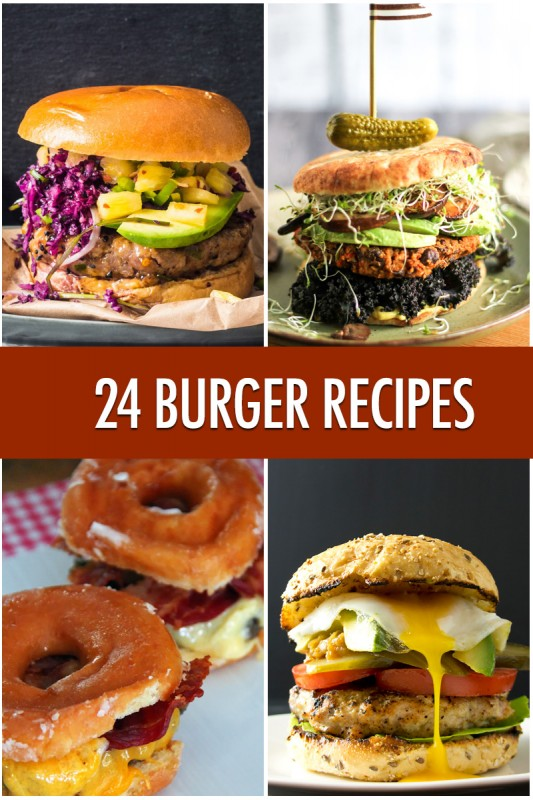Burger Heaven: 24 Burger Recipes | Food Bloggers of Canada