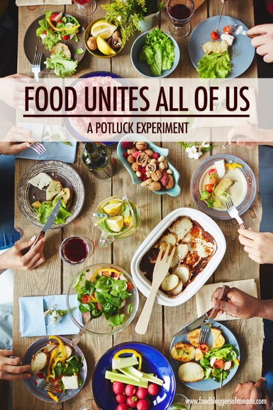 Food Unites All Of Us: A Potluck Experiment