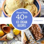 Collage of Ice Cream Dishes