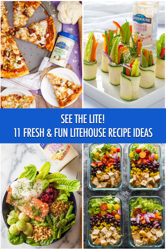 See The Lite: 11 Fresh and Fun Litehouse Recipe Ideas | Food Bloggers of Canada
