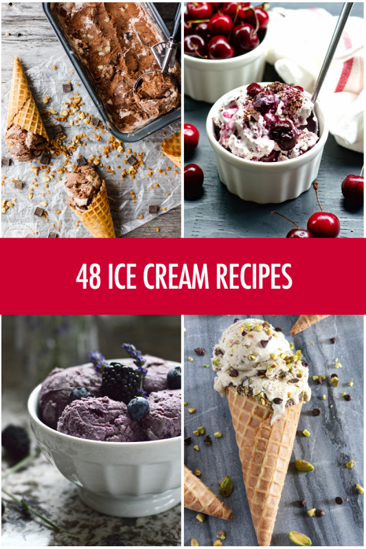48 Ice Cream Recipes | Food Bloggers of Canada