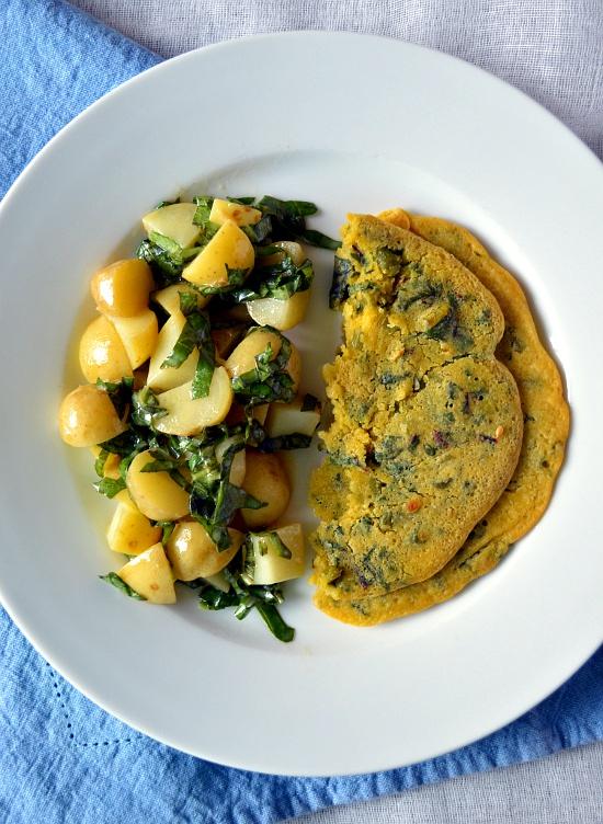 Chickpea Omelette 3
