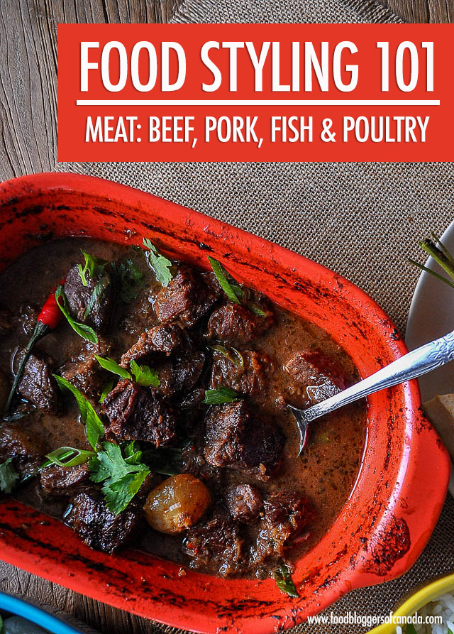 Food Styling Meat: Beef, Pork, Poultry and Fish