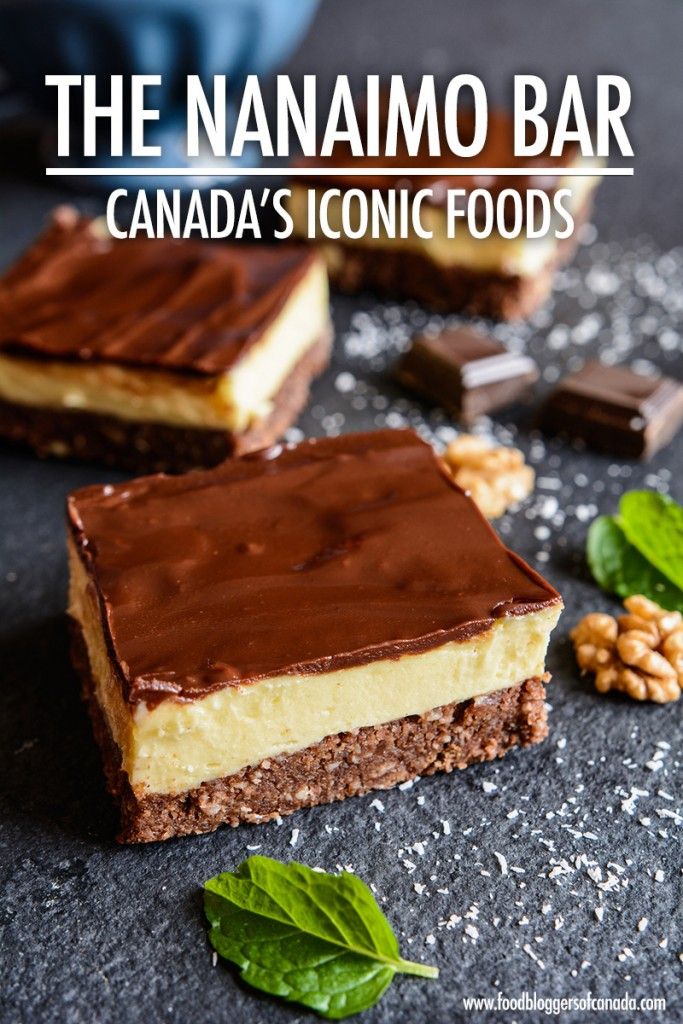 Iconic Canadian Foods: The Nanaimo Bar | Food Bloggers of Canada
