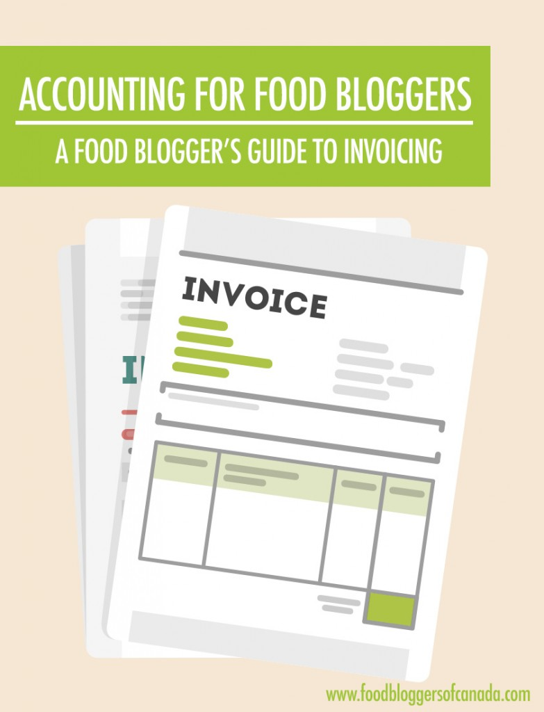 A Blogger's Guide To Invoicing | Food Blogger's of Canada