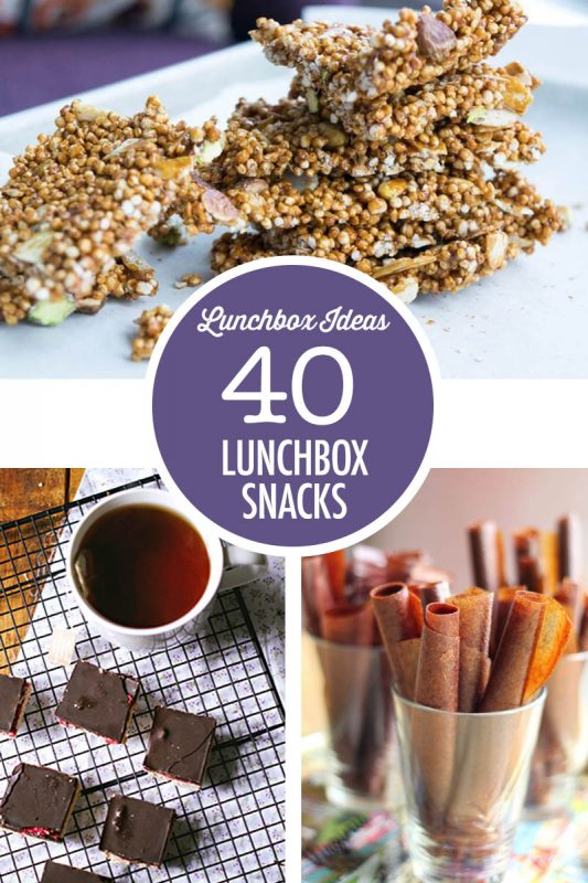 40 Lunchbox Snack Ideas | Food Bloggers of Canada
