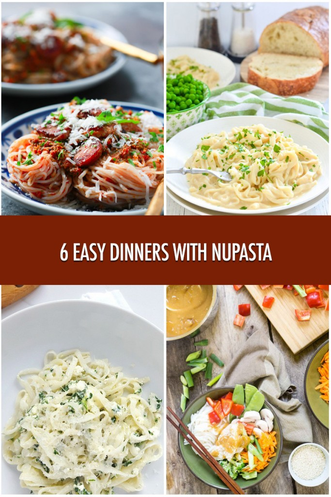 6 Easy Dinner Recipes with NuPasta | Food Bloggers of Canada