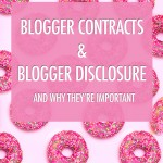 Blogger Contracts & Disclosure | Food bloggers of Canada