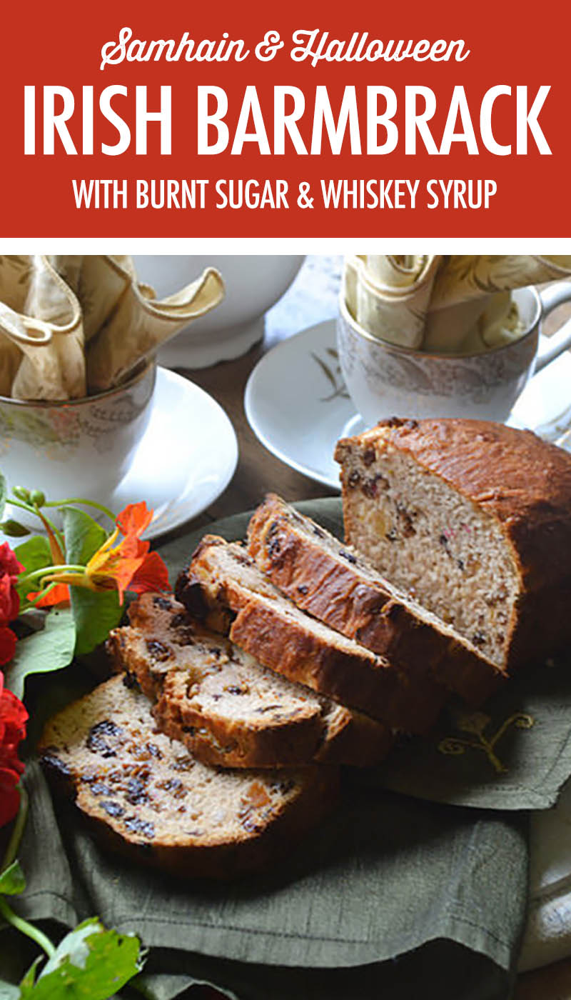 Irish Barmbrack with Burnt Sugar and Whiskey Syrup | Food Bloggers of Canada
