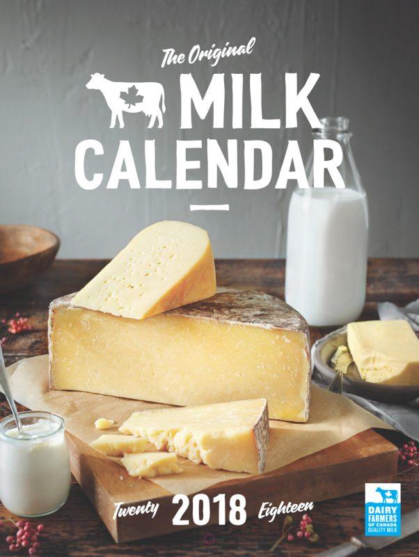 2018 Dairy Farmers of Canada Calendar