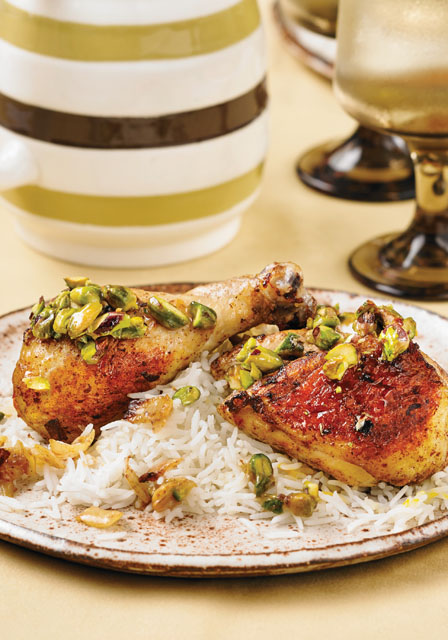 Best of Bridge Sunday Suppers: Sheet Pan Chicken with Pistachios and Honey