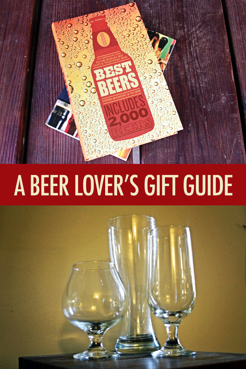 Books to Glasses: A Beer Lover's Gift Guide