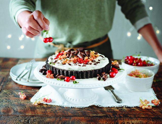 Mile High Chocolate Pudding Pie