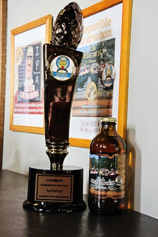 Canada's Craft Beer: Belgian-Inspired Les Brasseurs du Petit-Sault