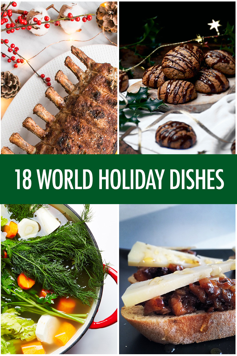 18 World Holiday Recipes | Food Bloggers of Canada