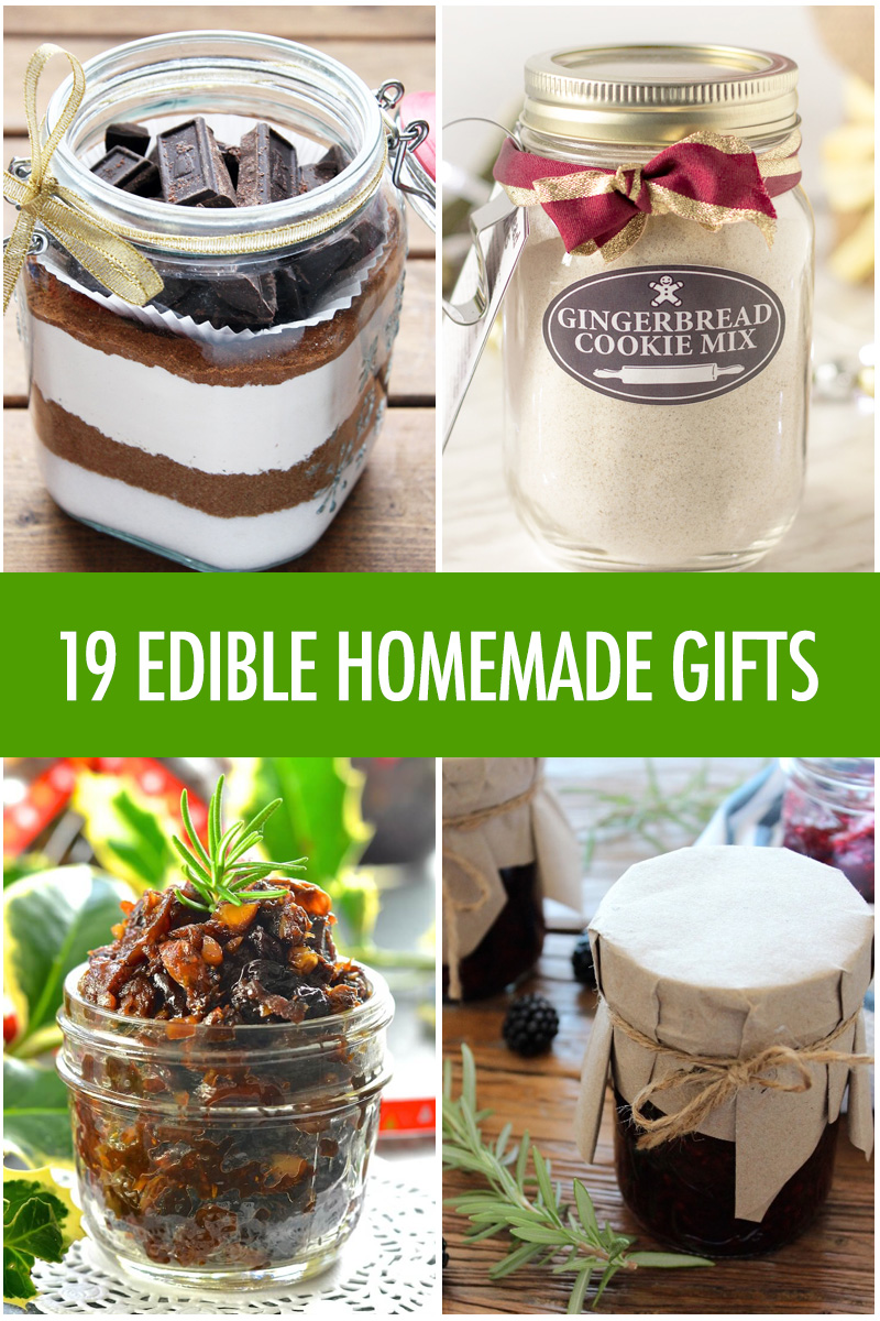 Edible Homemade Gift Ideas | Food Bloggers of Canada