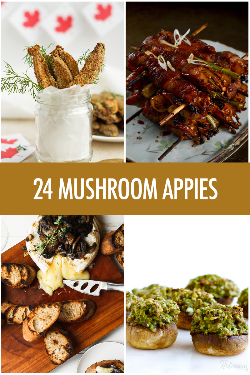 24 Mushroom Appetizers For Your Next Party | Food Bloggers of Canada