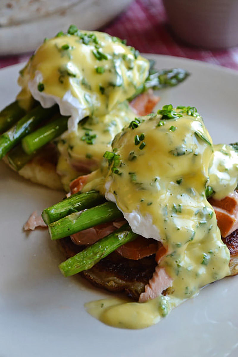 Irish Eggs Benny with Potato Farls | Food Bloggers of Canada