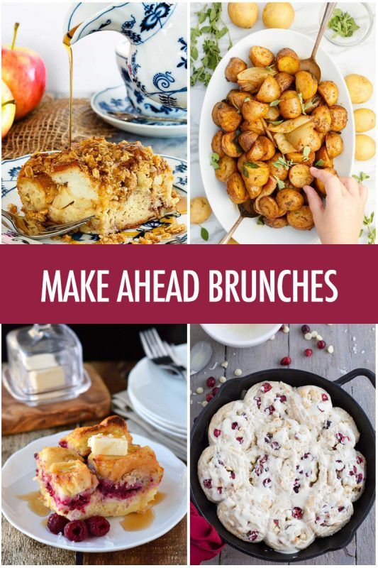 Make Ahead Brunch Recipes | Food Bloggers of Canada