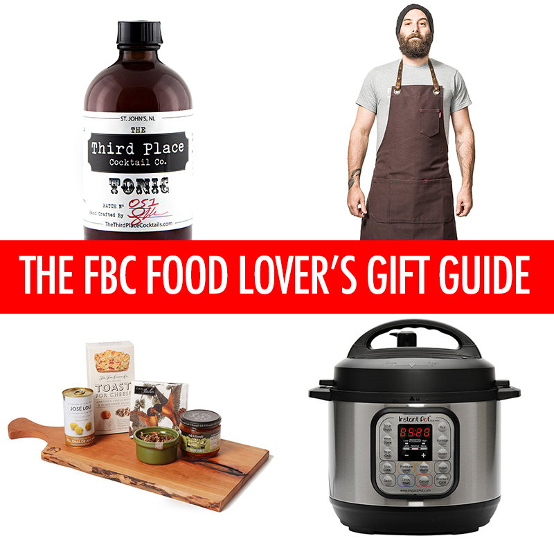 the fbc holiday food lovers gift guide
