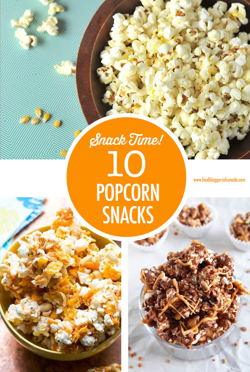 Popcorn Snacks - 10 Ways!