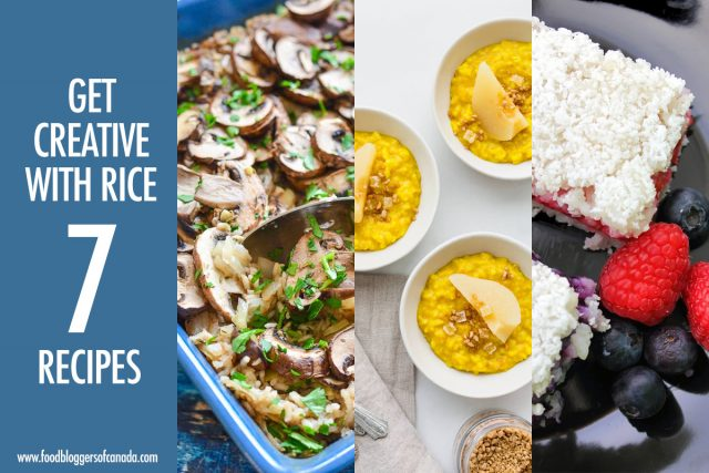 Rice Done 7 Ways With USA Rice   Food Bloggers of Canada