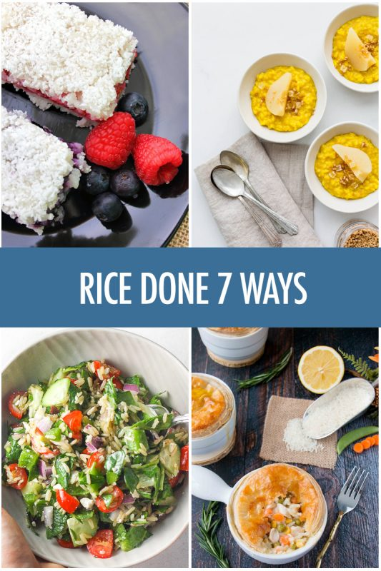 Rice Done 7 Ways With USA Rice | Food Bloggers of Canada