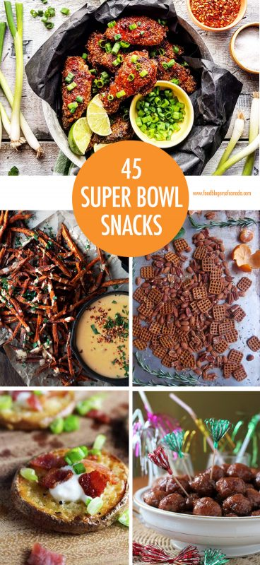 45 Super Bowl Snacks | Food Bloggers of Canada